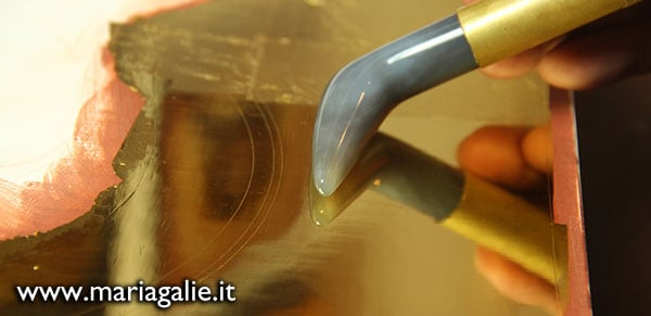 Workshop di doratura a cura di Maria Galie