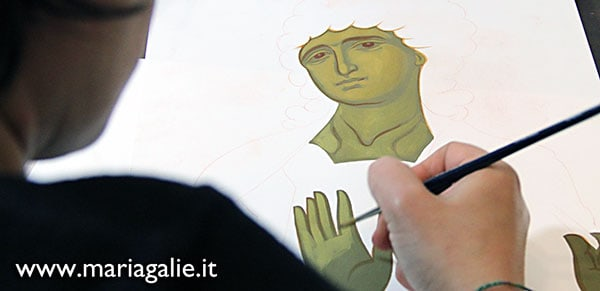 Workshop di pittura Maria Galie